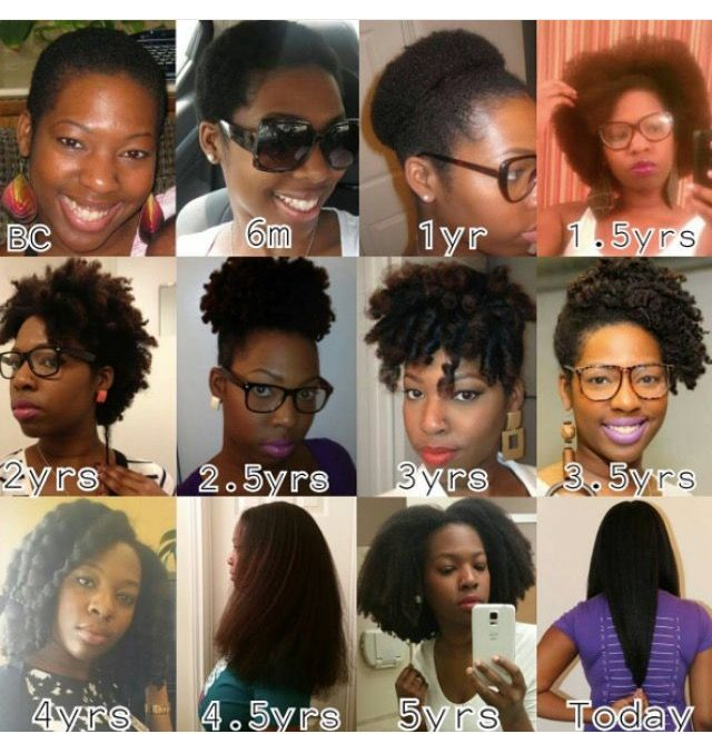 Long Natural B Hair Journey