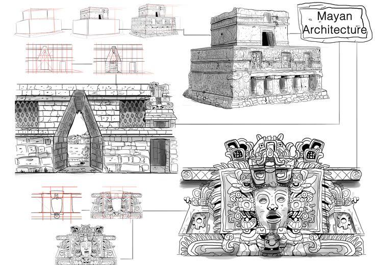 mayan-architecture-1 (4961×3508) | mayan architecture