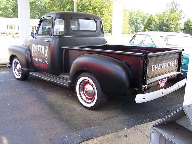 1954 CHEVY TRUCK by classicfordz, via Flickr