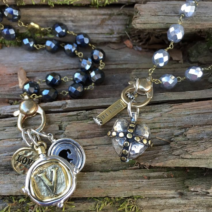 Waxing Poetic charms and jewelry! Shop now at Layla Grayce.