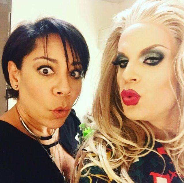 Katya with OITNB cast