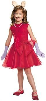CostumePub.com - Girl's Miss Piggy Costume