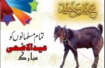 Eid Ul Azha Mubarak Text SMS Greeting Messages 2015