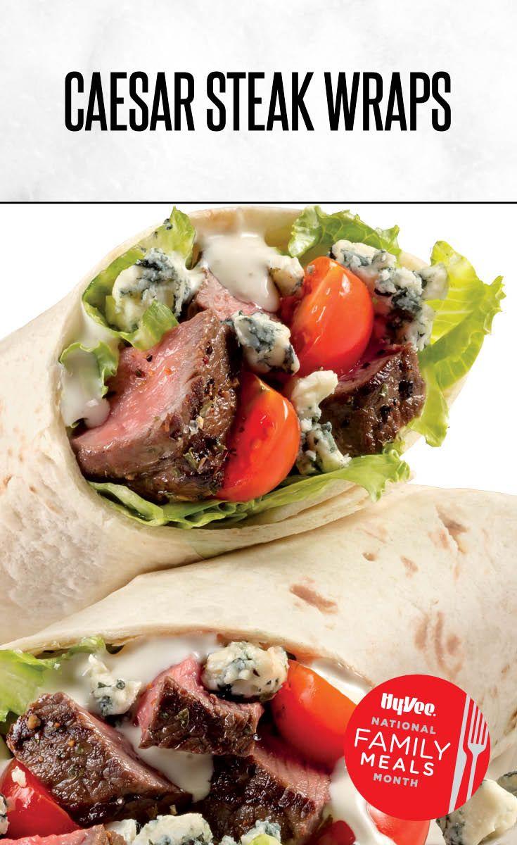 Caesar Steak Wrap