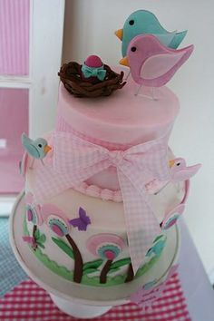 baby reveal party ideas damask | Make the cake lilac purple or yellow, and then make the icing inside ...
