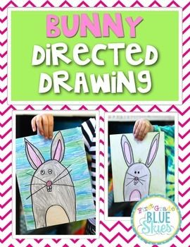 Just a quick set of instructions for guiding your class through a directed drawing of a bunny for Spring.Another idea would be to leave the instructions in your writing or art station and have kids create them on their own.  There is a video to accompany the drawing activity on my blog: First Grade Blue SKies