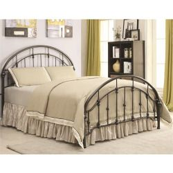 Cheap Coaster Furniture 300407T Maywood Twin Bed in Dark Bronze Price