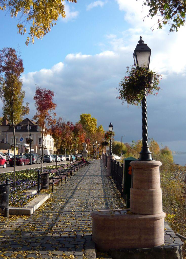 Vác, Hungary #fall #sunshine