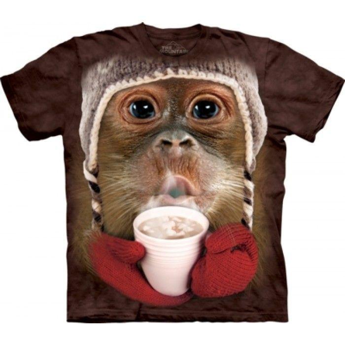 Tricouri The Mountain – Tricou Hot Cocoa Orangutan