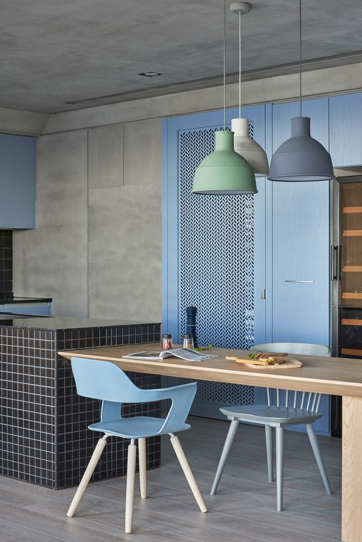 25 best ideas about light blue kitchens on pinterest blue kitchen inspiration blue kitchen - Light blue dining table ...