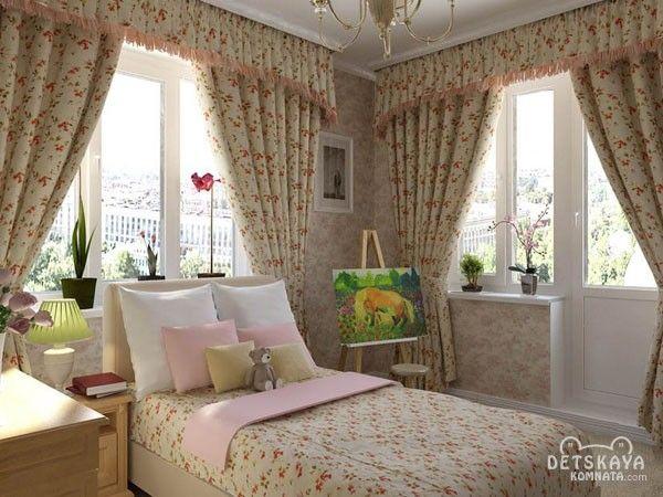 цветочные шторы в стиле прованс - Поиск в Google
