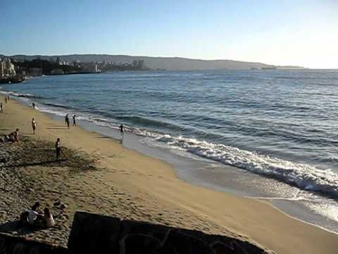 CHILE, VINA DEL MAR, PLAYA EL SOL