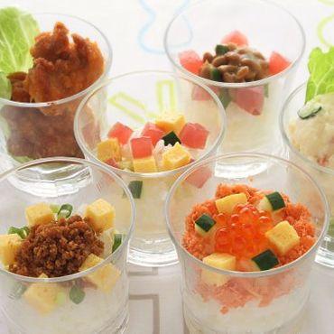 簡単すし飯でカップ寿司