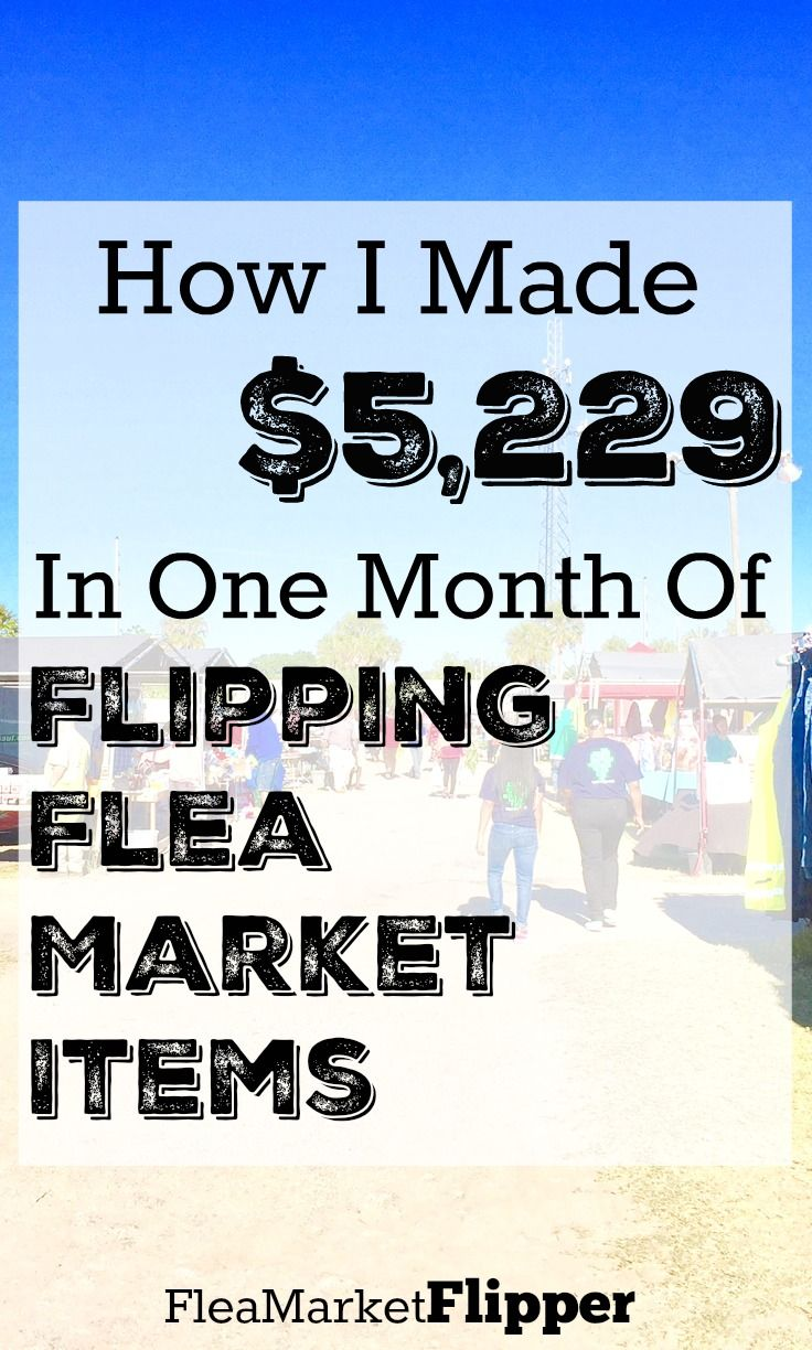 Looking for a side hustle? I LOVE going to the flea market and thrif stores and yard sales and finding treasures to sell! via @Fleamarketflipp
