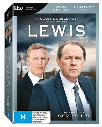Kevin Whately stars as Detective Inspector Robbie Lewis, ably assisted by Laurence Fox as his partner D.S. James Hathaway.