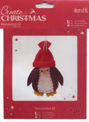 DoCrafts Mini Soft Christmas Kits.  Perfect for making your own Xmas Tree Decorations.