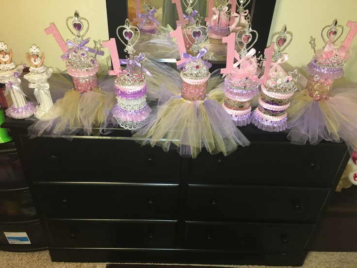 Princess centerpieces by Jamila