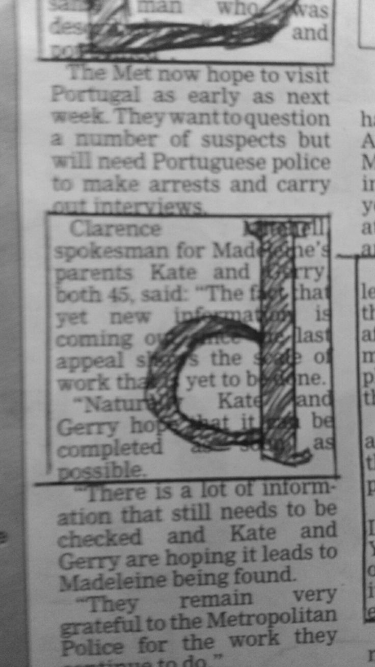 working in newspaper columns