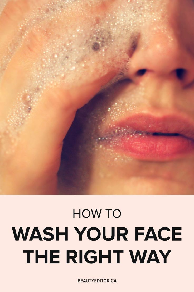 how to thoroughly clean your face