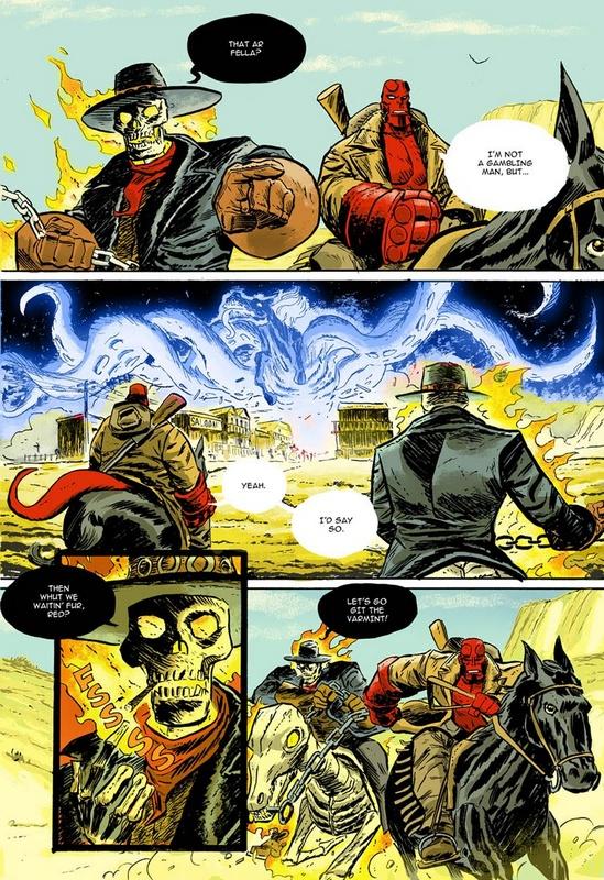 Comic Book Artist: Dan McDaid | Hellboy in Colour: Books Artists, Comic Univ, Comic Books, Commiss Comic