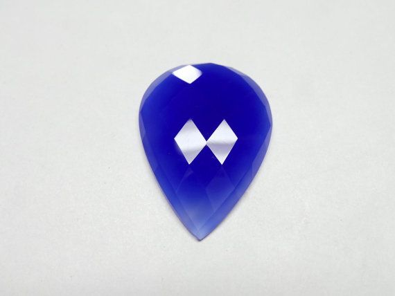 Fantastic Stunning Cobalt Blue Chalcedony 1 Pieces by StarGemBeads