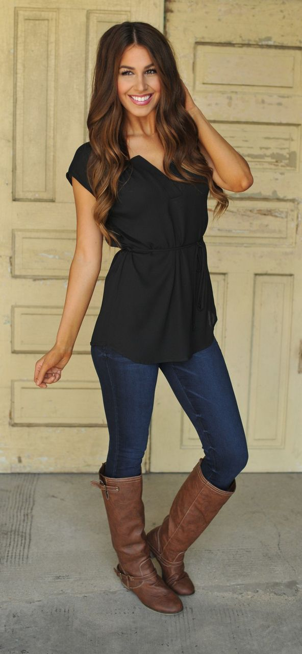 I could use a flattering shirt like this