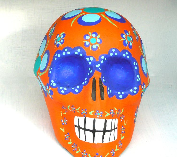 Day of the Dead skull from Mexico