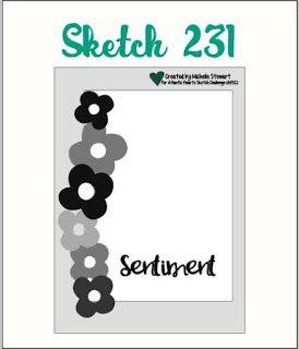 Atlantic Hearts Sketch Challenge : Sketch; Sketch # 231