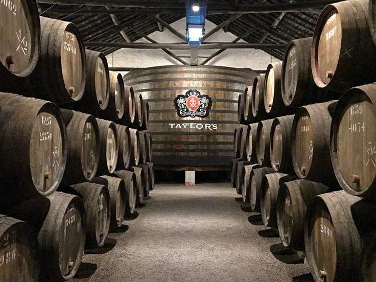 Taylor's Port Wine Caves in Porto, Portugal