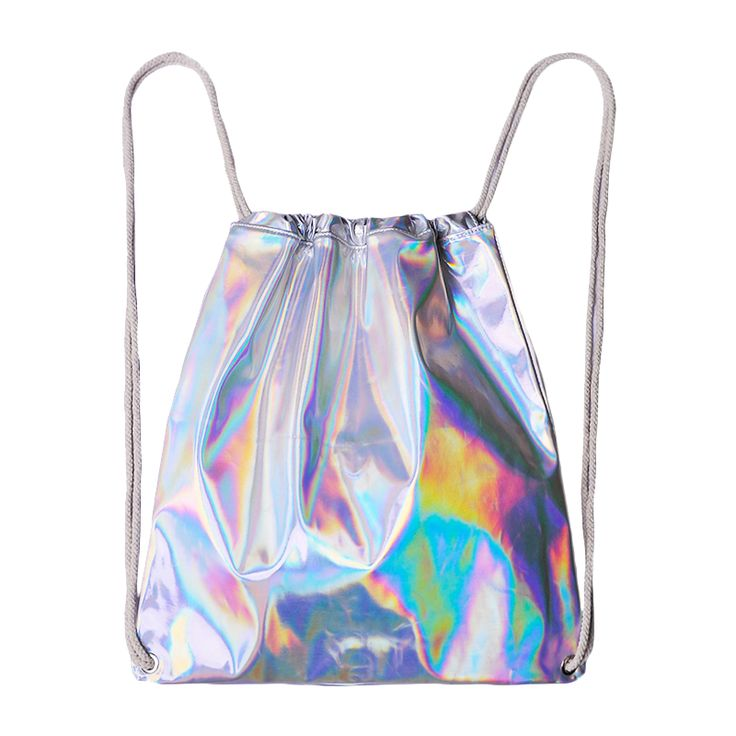 Holographic String Bag via Tiramiz. Click on the image to see more!