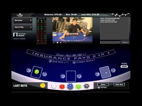 Live Blackjack at Castle Casino - Dealer Andres http://www.castlecasino.com/live-blackjack