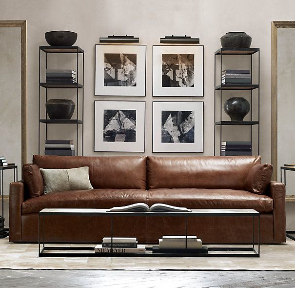 restoration hardware living room furniture 1000 ideas about leather decorating on 20716