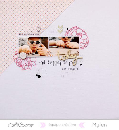 Page de Mylen - Blog de Cartoscrap