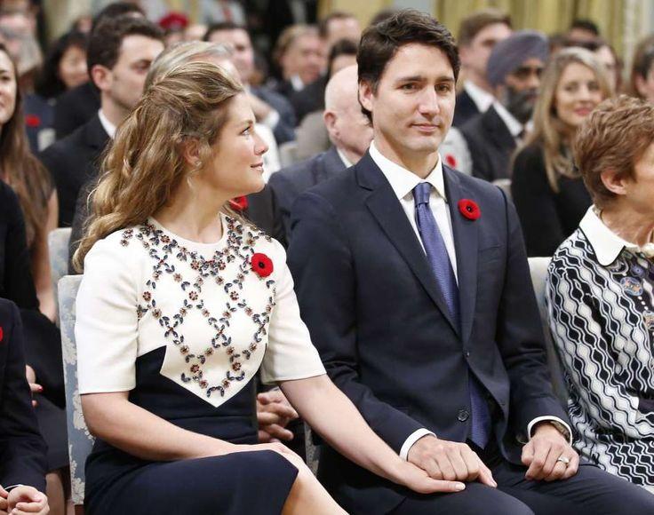Justin Trudeau lors de sa cérémonie d'assermentation - AFP