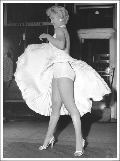 That famous Marilyn moment