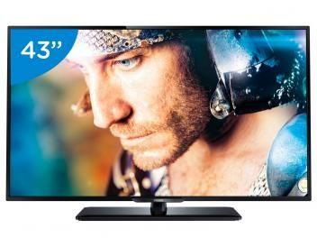 Smart TV LED 43 Philips 43PFG5100/78 Full HD - Conversor Integrado 3 HDMI 2 USB Wi-Fi