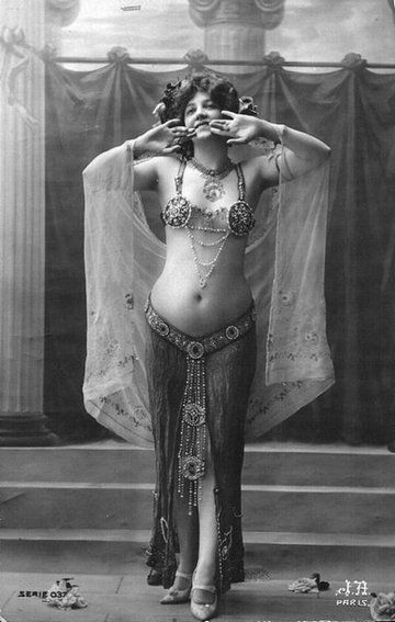 Vintage belly dance
