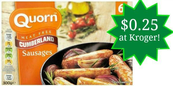 Kroger: Quorn Products Only $0.25!