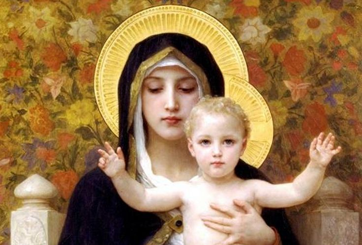 La Vierge aux Lys William-Adolphe Bouguereau