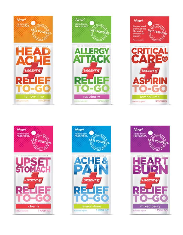 I love the colorful packaging of Urgent RX Powders. These are cheap, they work, and taste pretty good :) I think people should try this stuff. It's pretty amazing