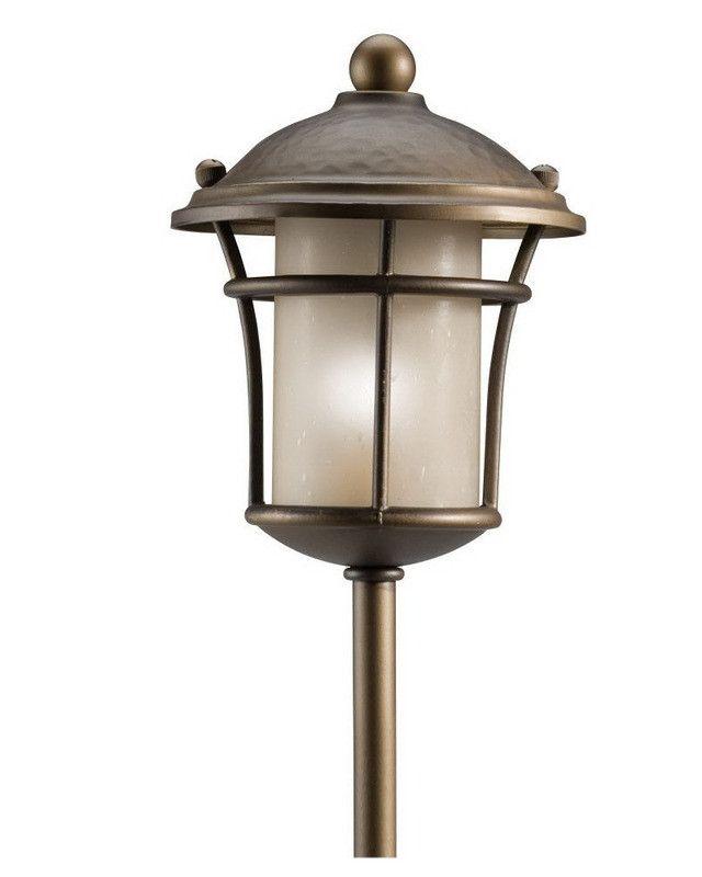 Kichler Landscape Lighting 28185 Low Voltage Exterior Landscape Path Light in Olde Bronze Finish