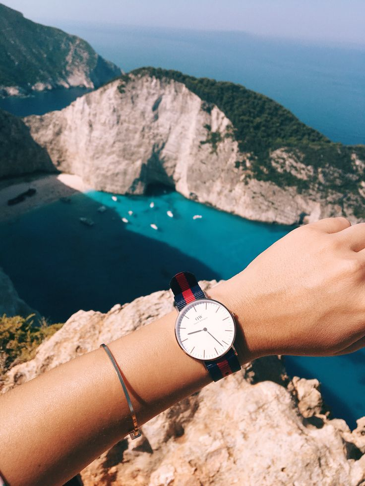 Daniel Wellington in Zakynthos Greece- summer vacation