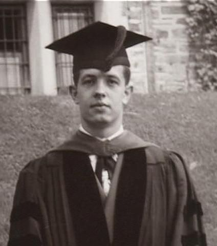 John Nash as a young man. He graduated Princeton at the age of 19, with a BS and an MS in Advanced Mathematics.