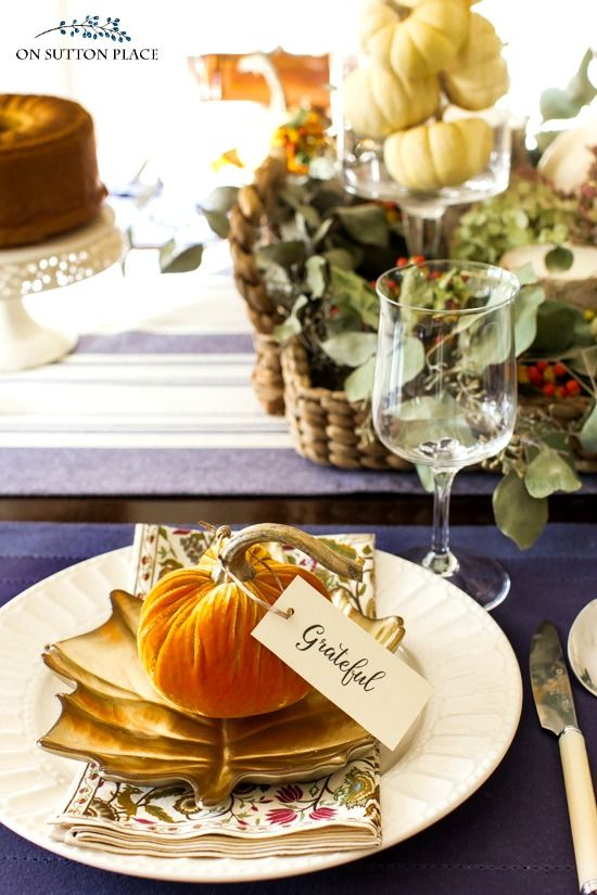 Best 25 Fall Table Settings Ideas On Pinterest Fall