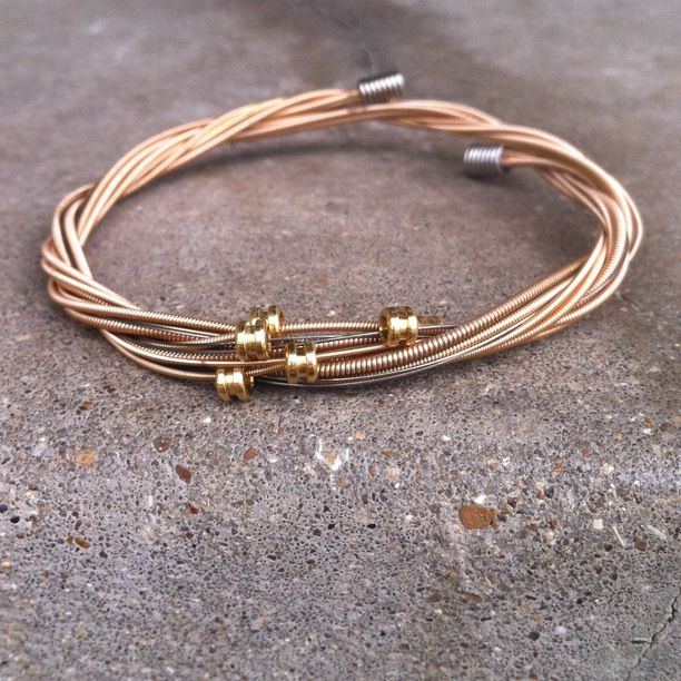 38 best guitar string bracelets images on pinterest guitar string bracelet rope bracelets and. Black Bedroom Furniture Sets. Home Design Ideas