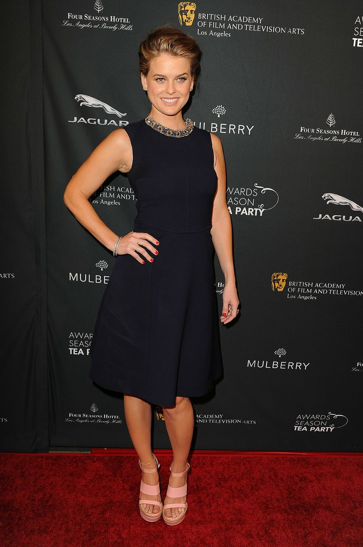 Alice Eve at the BAFTA Awards Season Tea Party