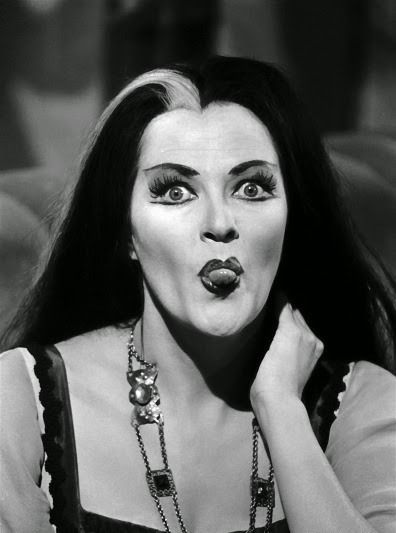 Yvonne De Carlo in costume as Lily Munster.