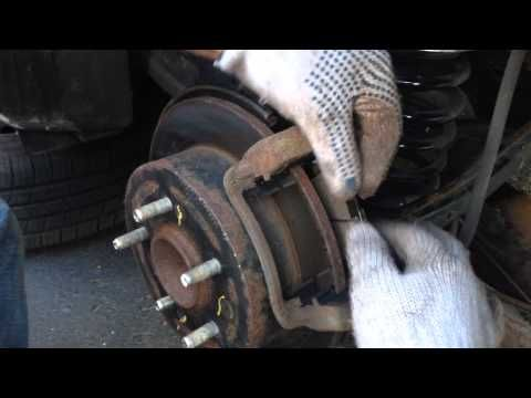 how to replace/change brake pads from Hyundai Elantra 2010-2013 - YouTube