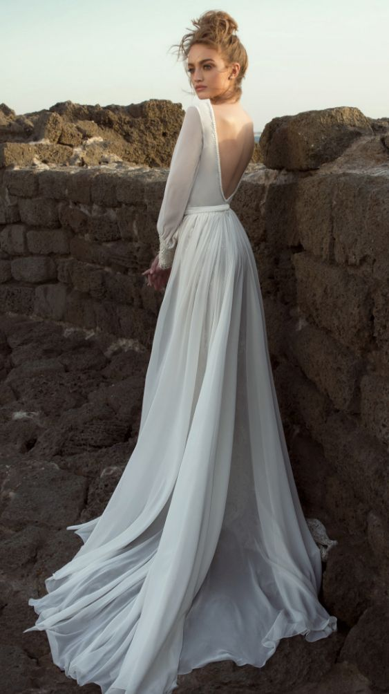 Featured Dress: Dany Mizrachi; Wedding dress idea.
