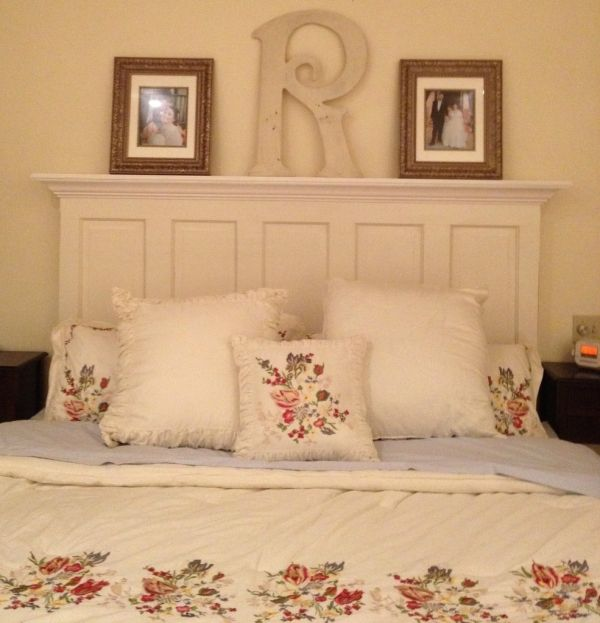 Oh, I love this headboard! Vintage Headboard 5 panel door headboard for a king or queen size bed image by FriscoShabbyChic - Photobucket by Vintage Headboards